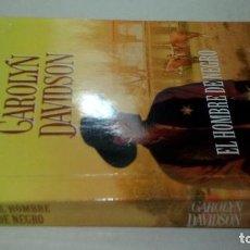 Libros de segunda mano: EL HOMBRE DE NEGRO - DAVIDSON, CAROLYN-ARLEKIN BOOKS-2005. Lote 111396583