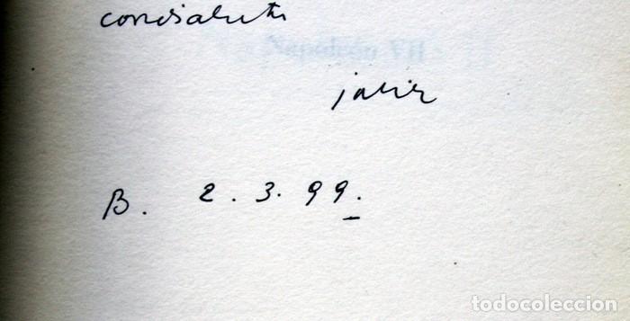 Libros de segunda mano: NAPOLEON VII - JAVIER TOMEO - DEDICATORIA DEL AUTOR - PRIMERA EDICION - Foto 2 - 111404391