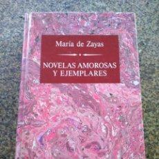 Libros de segunda mano: NOVELAS AMOROSAS Y EJEMPLARES -- MARIA DE ZAYAS -- GRANDES ESCRITORAS - ORBIS 1988 --. Lote 243334220