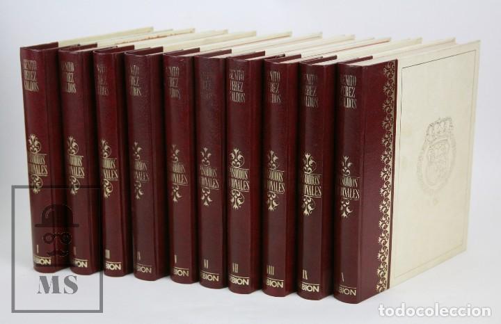 COLECCIÓN COMPLETA 10 LIBROS - EPISODIOS NACIONALES. BENITO PÉREZ GALDÓS - ED. URBIÓN/HERNANDO, 1976 (Libros de Segunda Mano (posteriores a 1936) - Literatura - Narrativa - Otros)
