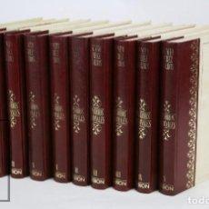 Libros de segunda mano: COLECCIÓN COMPLETA 10 LIBROS - EPISODIOS NACIONALES. BENITO PÉREZ GALDÓS - ED. URBIÓN/HERNANDO, 1976. Lote 161199533