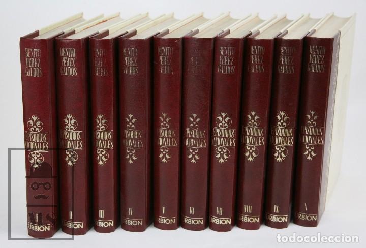 Libros de segunda mano: Colección Completa 10 Libros - Episodios Nacionales. Benito Pérez Galdós - Ed. Urbión/Hernando, 1976 - Foto 2 - 161199533