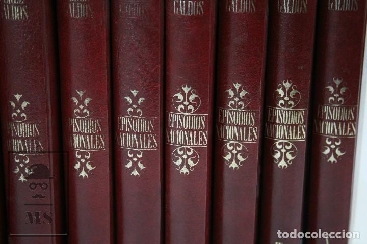 Libros de segunda mano: Colección Completa 10 Libros - Episodios Nacionales. Benito Pérez Galdós - Ed. Urbión/Hernando, 1976 - Foto 3 - 161199533