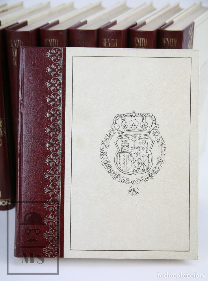 Libros de segunda mano: Colección Completa 10 Libros - Episodios Nacionales. Benito Pérez Galdós - Ed. Urbión/Hernando, 1976 - Foto 4 - 161199533