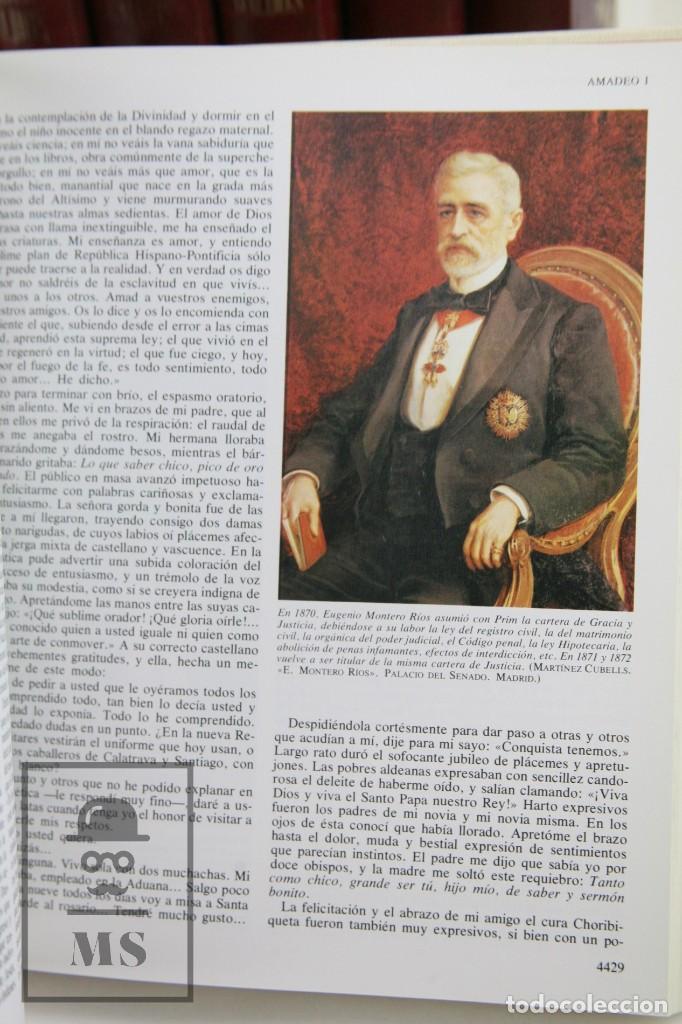 Libros de segunda mano: Colección Completa 10 Libros - Episodios Nacionales. Benito Pérez Galdós - Ed. Urbión/Hernando, 1976 - Foto 5 - 161199533