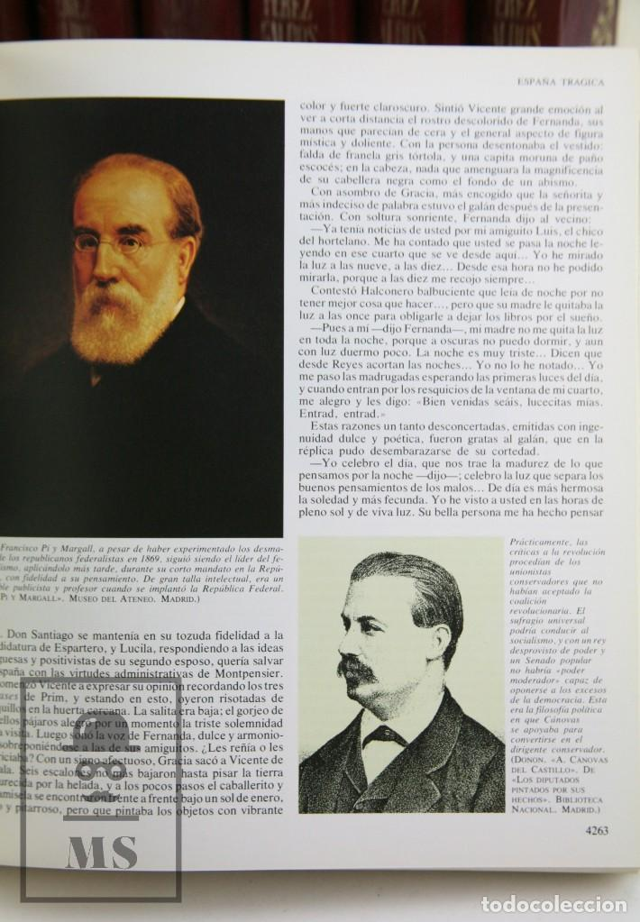 Libros de segunda mano: Colección Completa 10 Libros - Episodios Nacionales. Benito Pérez Galdós - Ed. Urbión/Hernando, 1976 - Foto 8 - 161199533