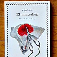 Libros de segunda mano: ANDRÉ GIDE - EL INMORALISTA - CÁTEDRA LETRAS UNIVERSALES - 1999. Lote 112238879