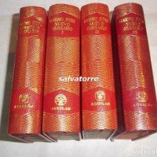 Libros de segunda mano: EUGENIO D'ORS.NOVISIMO GLOSARIO Y NUEVO GLOSARIO.4 TOMOS.EDITORIAL AGUILAR.1947.. Lote 112261099