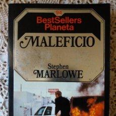 Libros de segunda mano: MALEFICIO - STEPHEN MARLOWE - COLECCIÓN BEST SELLERS PLANETA. Lote 112486095