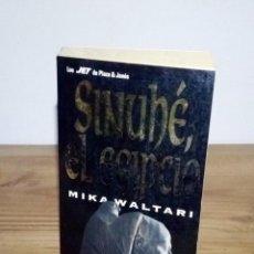 Libros de segunda mano: SINUHÉ EL EGIPCIO. 1 ª ED. 1993 EN ESTE FORMATO. MIKA WALTARI.. Lote 112551095