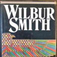 Libros de segunda mano: EL SEPTIMO PAPIRO POR WILBUR SMITH ED. EMECE 1997 TELA EDITORIAL CON SOBRECUBIERTAS 502 PGS. Lote 112577855