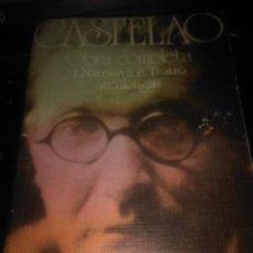 Libros de segunda mano: CASTELAO, OBRA COMPLETA 1 NARRATIVA E TEATRO ( AKAL EDITOR ). Lote 112834695