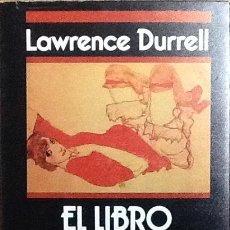 Libros de segunda mano: EL LIBRO NEGRO. LAWRENCE DURRELL. 1ª EDICIÓN EDHASA. . Lote 112866139