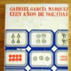 Libros de segunda mano: CIEN AÑOS DE SOLEDAD - GABRIEL GARCIA MARQUEZ ED. SUDAMERICANA 1ª EDICION ESPAÑOLA. Lote 112914483