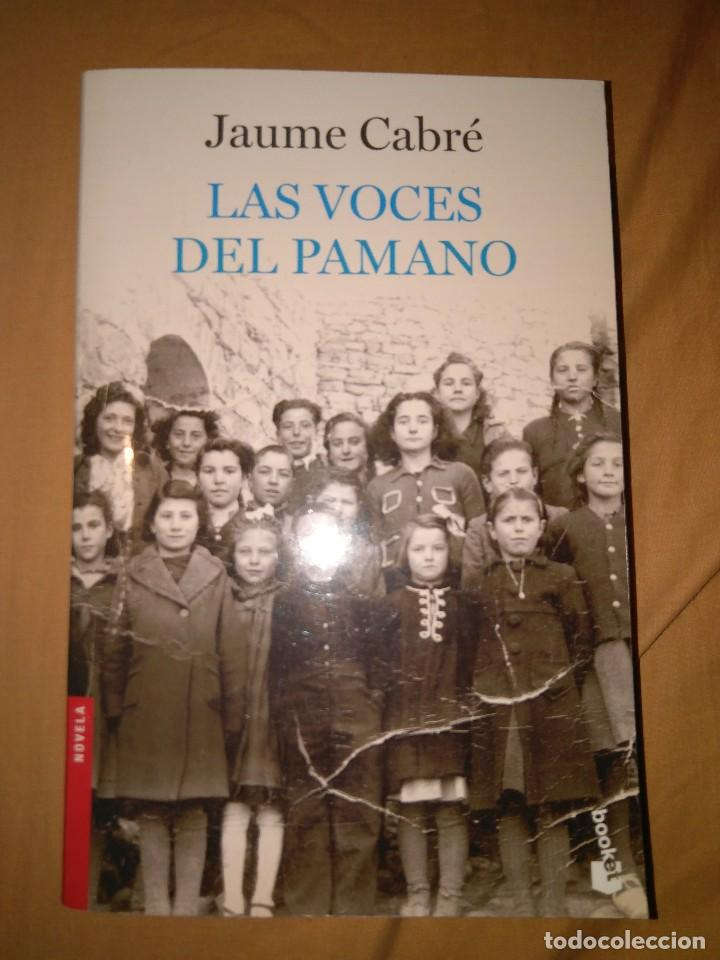 JUAME CABRE LAS VOCES DEL PAMANO (Second Hand Books (after 1936) - Literature - Narrative - Other Narrative Books)