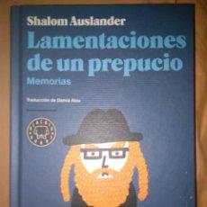 Libros de segunda mano: LAMENTACIONES DE UN PREPUCIO MEMORIASSHALOM AUSLANDER BLACKIE BOOKS. Lote 112917899