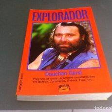Libros de segunda mano: DOUCHAN GERSI. EXPLORADOR. ED. MARTÍNEZ ROCA, 1989. Lote 112928499