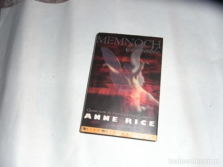 MEMNOCH. EL DIABLO, ANNE RICE, EDICIONES B (Libros de Segunda Mano (posteriores a 1936) - Literatura - Narrativa - Otros)