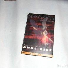 Libros de segunda mano: MEMNOCH. EL DIABLO, ANNE RICE, EDICIONES B. Lote 112949519