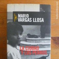 Libros de segunda mano: LA CIUDAD Y LOS PERROS VARGAS LLOSA, MARIO PUBLICADO POR EDICIONES ALFAGUARA, MADRID. (1999) 483PP. Lote 112960975