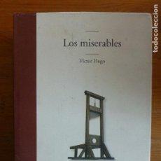 Libros de segunda mano: LOS MISERABLES HUGO, VICTOR PUBLICADO POR EDHASA, BARCELONA (2013) 1209PP. Lote 112965691