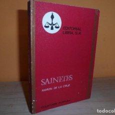 Libros de segunda mano: SAINETES / RAMON DE LA CRUZ. Lote 112998127