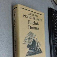 Libros de segunda mano: EL CLUB DUMAS / ARTURO PÉREZ REVERTE / CÍRCULO DE LECTORES. Lote 112998943