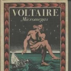 Libros de segunda mano: VOLTAIRE. MICROMEGAS. LA BIBLIOTECA DE BABEL. DIRIGIDA POR JORGE LUIS BORGES.. Lote 112999031