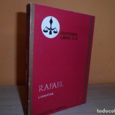 Libros de segunda mano: RAFAEL / M.A.DE LAMARTINE. Lote 112999083