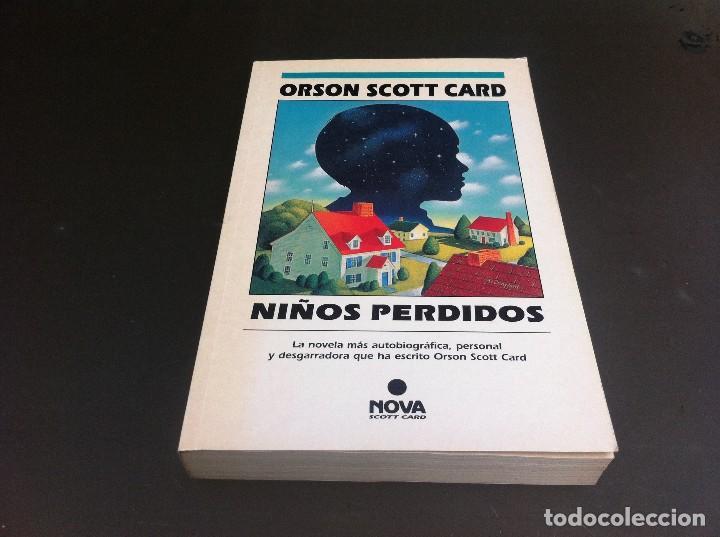 ORSON SCOTT CARD. NIÑOS PERDIDOS. ED. EDICIONES B, 1994 (Libros de Segunda Mano (posteriores a 1936) - Literatura - Narrativa - Otros)