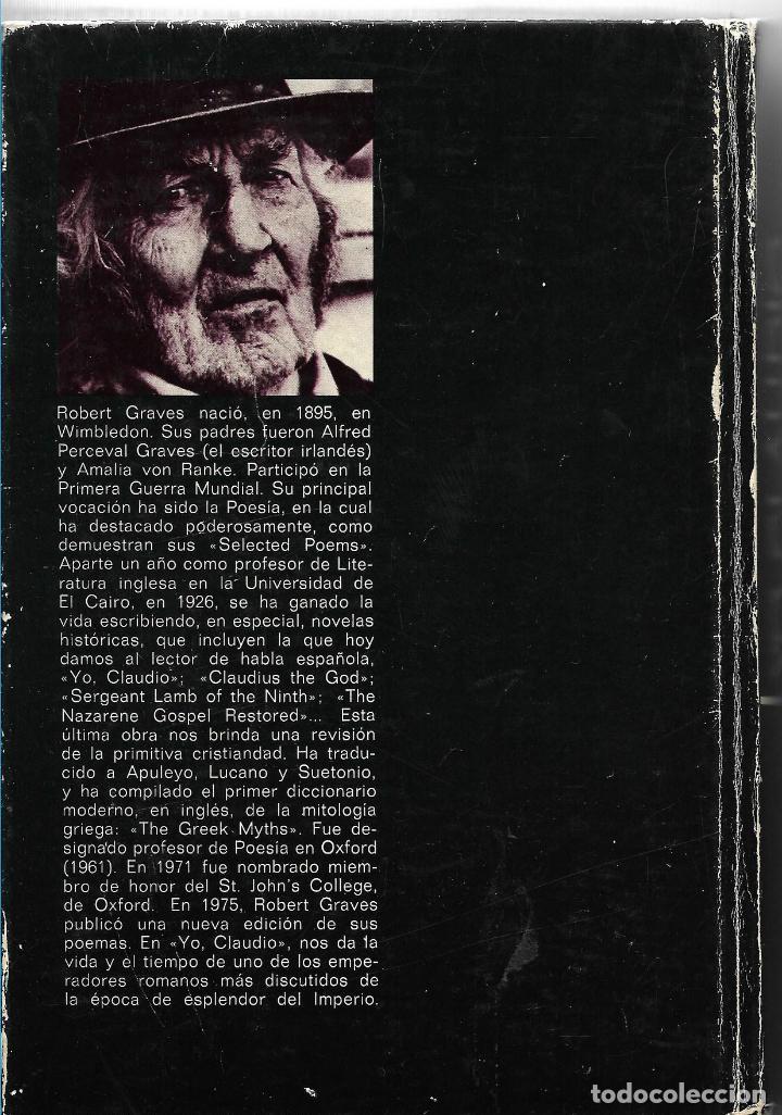 Libros de segunda mano: YO, CLAUDIO - CLAUDIO, EL DIOS Y SU ESPOSA MESALINA - PLAZA & JANES 1979 - TAPA DURA - Foto 2 - 113045519