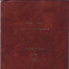 Libros de segunda mano: ANDRÉ BRETON - OBRAS MAESTRAS DE LA LITERATURA CONTEMPORANEA - SEIX BARRAL 1985. Lote 113080523