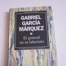 Libros de segunda mano: GABRIEL GARCÍA MÁRQUEZ. EL GENERAL EN SU LABERINTO. RBA, 1993. Lote 113147191