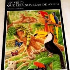 Libros de segunda mano: UN VIEJO QUE LEÍA NOVELAS DE AMOR; LUIS SEPÚLVEDA - TUSQUETS 1995. Lote 113151583