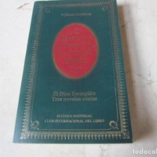 Libros de segunda mano: WILLIAM GOLDING - EL DIOS ESCORPION TRES NOVELAS CORTAS - ALIANZA EDITORIAL 1984. Lote 113218671