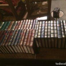 Libros de segunda mano: ANTIGUA COLECCION DE 39 LIBROS GRANDES GENIOS DE LA LITERATURA UNVIERSAL VARIOS TITULOS AÑO 1983 . Lote 113302955