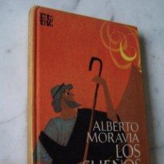 Libros de segunda mano: LOS SUEÑOS DE HARAGAN. ALBERTO MORAVIA. PLAZA & JANES, 1972.. Lote 113520587