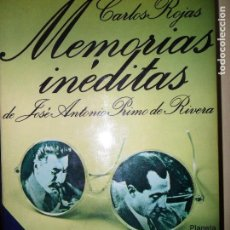 Libros de segunda mano: MEMORIAS INÉDITAS, CARLOS ROJAS, ED. PLANETA. Lote 113601495