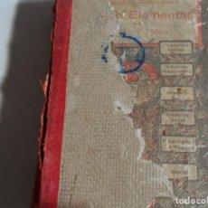 Libros de segunda mano: GRADO ELEMENTAL POR M. PORCEL Y RIERA. LIBRO DEL ALUMNO . Lote 114306919