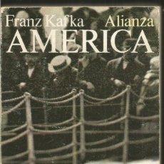 Livres d'occasion: FRANZ KAFKA. AMERICA. EMECE. Lote 114632031