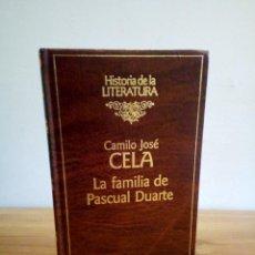 Libros de segunda mano: LA FAMILIA DE PASCUAL DUARTE. CELA, CAMILO JOSÉ. HISTORIA DE LA LITERATURA. RBA 1ª ED. 1991. Lote 115044291