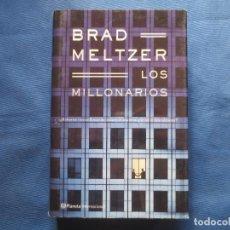 Libros de segunda mano: LOS MILLONARIOS DE BRAD MELTZER. Lote 115168727