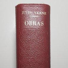 Libros de segunda mano: OBRAS II - JULIO VERNE - PLAZA & JANÉS - 9 NOVELAS EN 1990 PÁGINAS. Lote 115173479