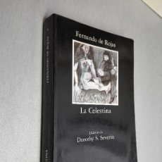 Libros de segunda mano: LA CELESTINA / FERNANDO DE ROJAS / CÁTEDRA 1992. Lote 115547483