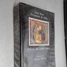 Libros de segunda mano: LIBRO DE BUEN AMOR / JUAN RUIZ ARCIPRESTE DE HITA / CÁTEDRA 1992. Lote 115548723