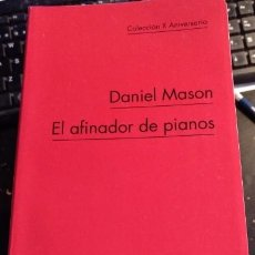 Libros de segunda mano - EL AFINADOR DE PIANOS. - MASON, Daniel. - 113905302