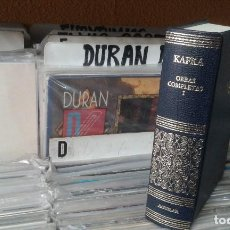 Libros de segunda mano: KAFKA,OBRAS COMPLETAS ,TOMO I ,AGUILAR 2004. Lote 115588499