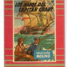 Libros de segunda mano: COLECCIÓN MOLINO. Nº 16. LOS HIJOS DE CAPITÁN GRANT. J. VERNE. MOLINO 1954. (ST/A5). Lote 115604735