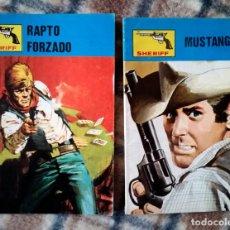 Libros de segunda mano: OESTE 2 NOVELAS GRÁFICAS SHERIFF COLECCIÓN VILMAR 262-278 NUEVO AÑOS 80. Lote 116071723