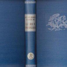 Libros de segunda mano: LOS MÁS BELLOS CUENTOS DE LAS MIL Y UNA NOCHES / SELECCIÓN JUAN VERNET - 1960. Lote 116745047